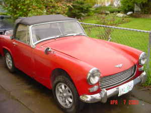 Austin Healey Sprite For Sale