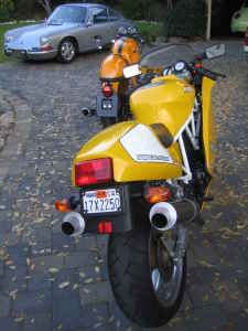 Yellow Ducati SuperSport Superlight