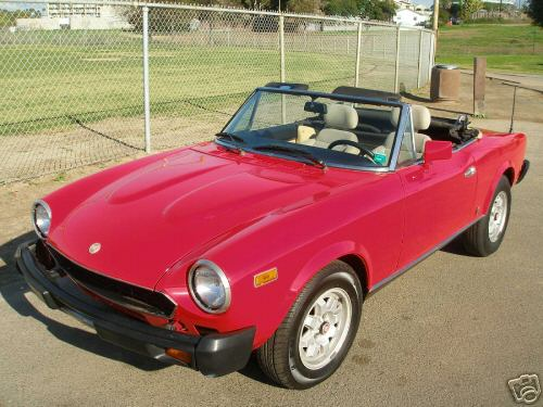 1982 Fiat Spyder