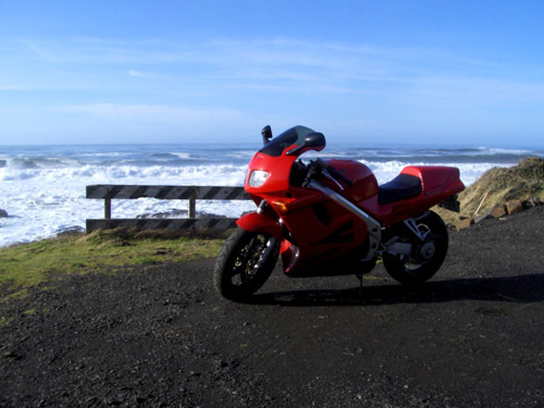 1997 Honda VFR 740 Oregon Coast