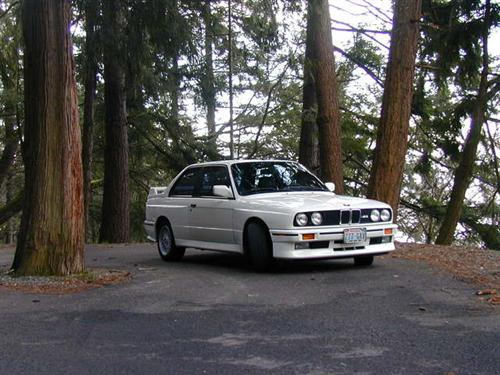 1991 BMW e30 M3 For Sale alpinweiss