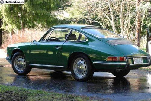 1966 Porsche 912 Green For Sale
