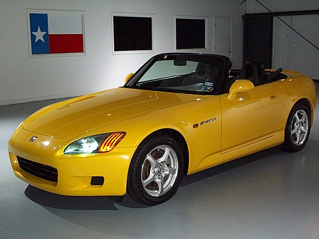 2001 Honda S2000 Yellow For Sale
