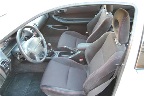 1997 Acura Integra Type R White