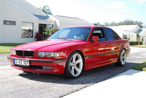 Dinan 740i Sport Imola Red For Sale