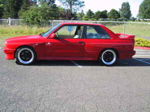Red e30 M3 For Sale in Portland, Oregon