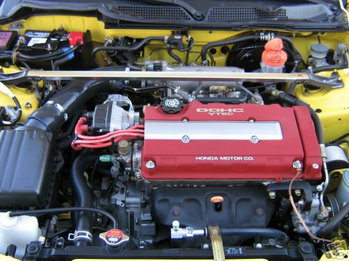 Acura Integra Type R Engine Red