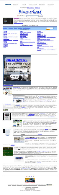 Bimmerhead.com - clubs, forums, model specific, Alpina, classifieds, DIY, or aftermarket websites related to your BMW