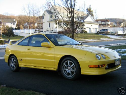 2000 Acura Honda Integra Type R For Sale Yellow
