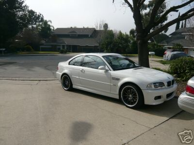 2001 BMW e46 M3 Alpina White For Sale