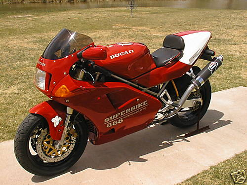 Ducati 888 SPO Superbike for sale