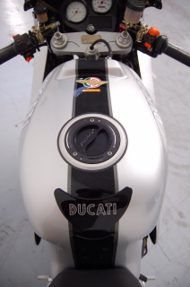 Ducati 900 SS/SP Custom Gray