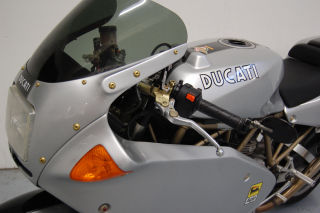 1996 Ducati 900 SS/SP SuperSport Gray Custom