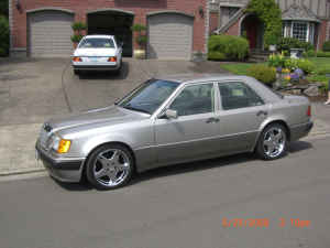 1993 Mercedes W124 500E Porsche For Sale Craigslist