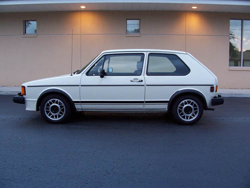 VW MK1 GTi For Sale White Restored