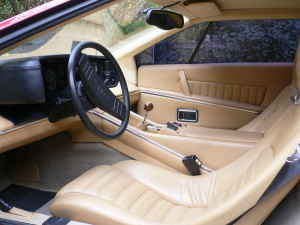 1977 Lotus Esprit S1 For Sale Interior