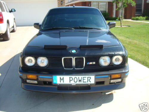 1988 BMW e30 M3 For Sale S14 Black Low Miles