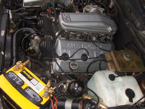 Alfa Romeo Milano Verde 3L Engine