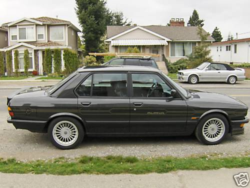 1987 Alpina B10 e28 For Sale in Gray