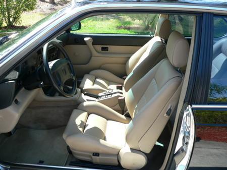 BMW e24 M6 For Sale Black on Tan