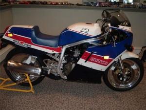 1986 GSX-R 750R Limited (GSXR750 RG)