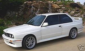 1991 BMW e30 M3 Alpineweiss