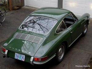 1967 Porsche 912 in Irish Green