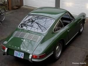 1967 Porsche 912 in Irish Green