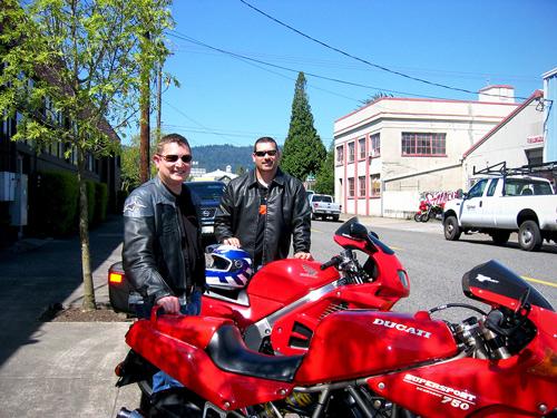 Blake-and-Dan-at-Anvil-Media-in-Portland