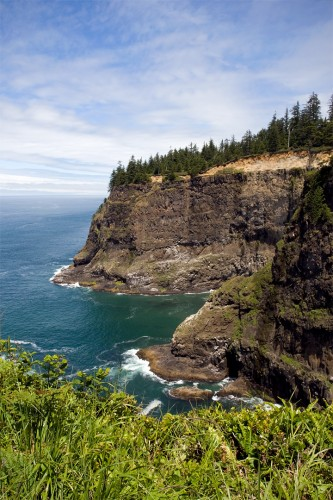 Cape Meares Oregon Coast Motorcycle Trip