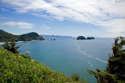 Cape Meares Oregon Coast Motorcycle Trip