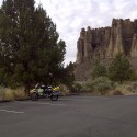 John Day Fossil Beds.  Keiths BMW GS.