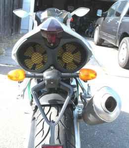 Benelli Tornado Rear Fans