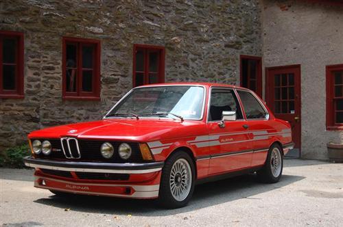 BMW e21 Alpina B6