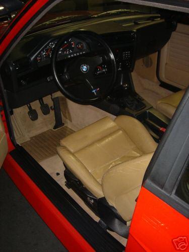 e30 M3 Leather Seat