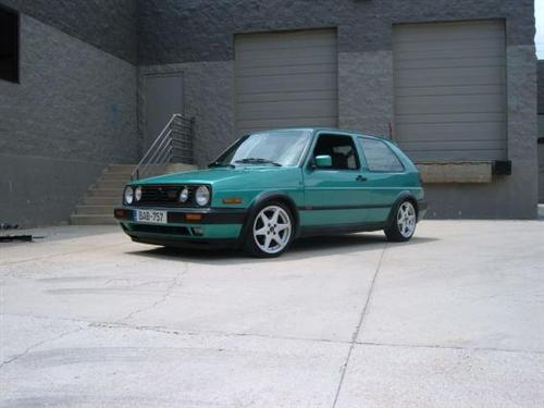 1992 Volkswagen GTi Montana Green For Sale