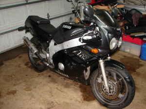 Yamaha FZR 600 1989 Black