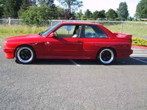Red e30 M3 For Sale in Portland, Oregon
