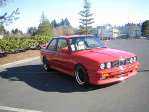 1988 BMW e30 M3 For Sale Red