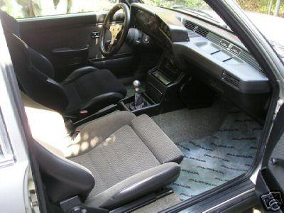 1982 BMW Alpina 323 C1 2.3 Interior