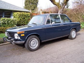 1970 BMW 2002 Atlantik Blue For Sale
