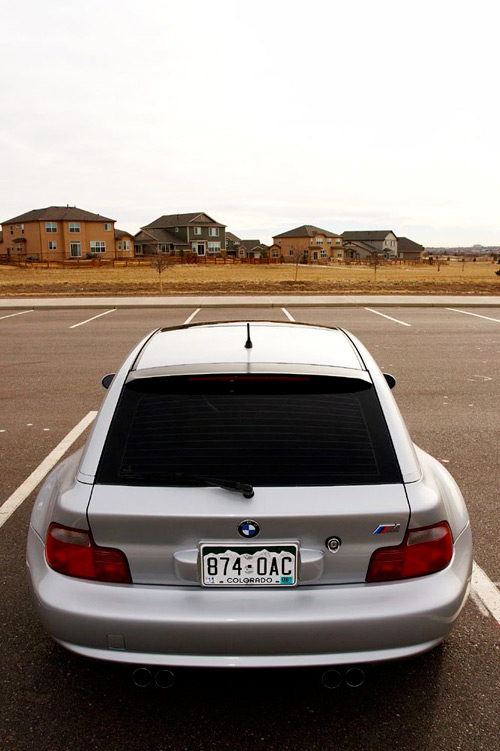 BMW M Coupe Back End