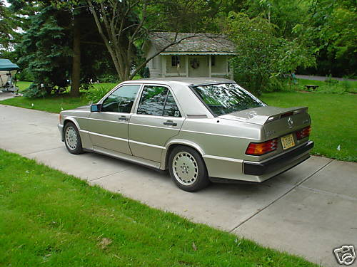 Silver Mercedes 2.3-16 Cosworth