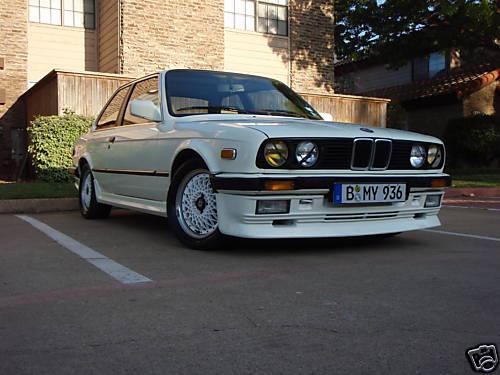 1985 BMW 323i Alpina Zender