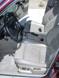 1995 BMW 540i M Sport Interior