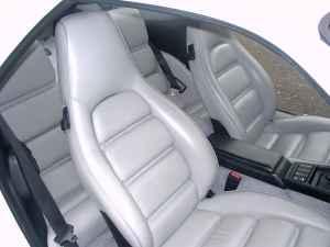 Porsche Linen White Leather Interior 928S4