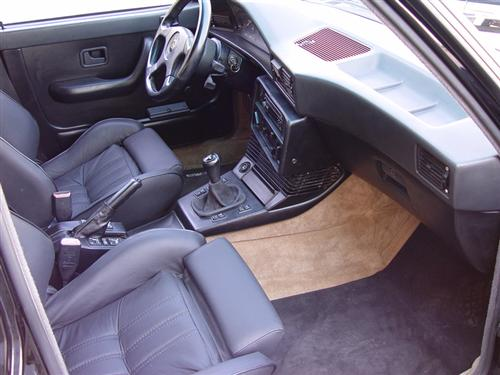 1988 BMW e28 M5 For Sale Black Leather