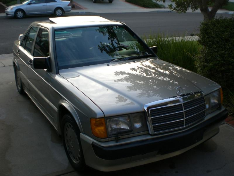 1987 Mercedes 190 2.3-16 For Sale in San Diego