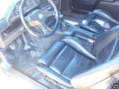 BMW e30 M3 For Sale Interior Black Leather