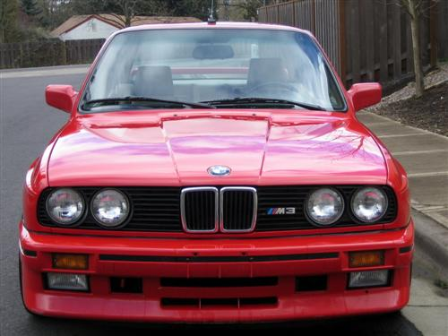 Red BMW e30 M3 For Sale